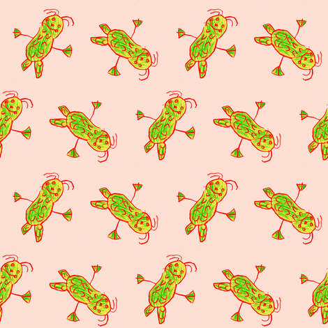 KharaMonster-3 fabric by grannynan on Spoonflower - custom fabric