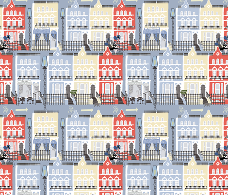Notting Hill fabric by kociara on Spoonflower - custom fabric