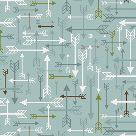 A fletcher's jumble fabric by ebygomm on Spoonflower - custom fabric