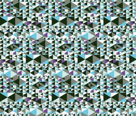 Point out my song (blue, green, white, purple) fabric by verycherry on Spoonflower - custom fabric