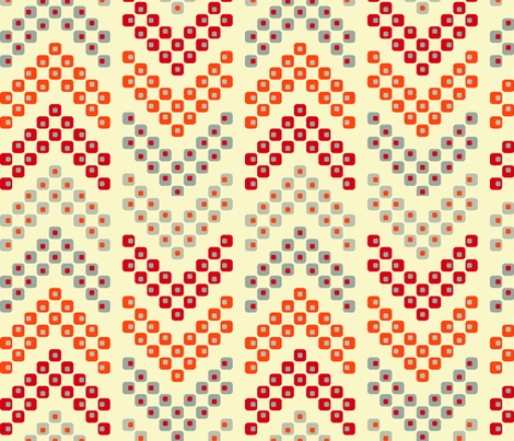 Arrows from Dotted Squares fabric by thebon on Spoonflower - custom fabric