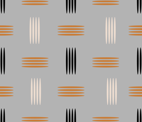 Mid Century Modern fabric by chickoteria on Spoonflower - custom fabric