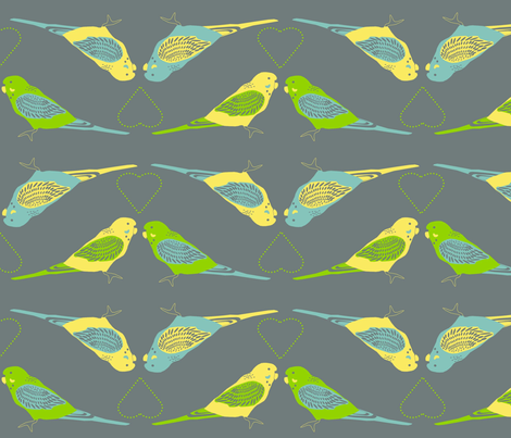 budgie_stripe fabric by roxiespeople on Spoonflower - custom fabric