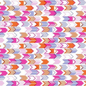 Tribal Arrows (Pink Mini)