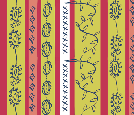 Matisse Stripes fabric by boris_thumbkin on Spoonflower - custom fabric