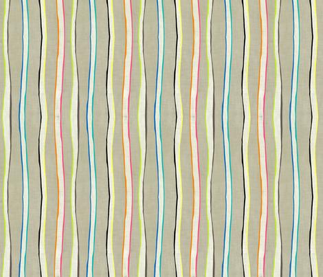 Loolu Stripe fabric by lisabarbero on Spoonflower - custom fabric