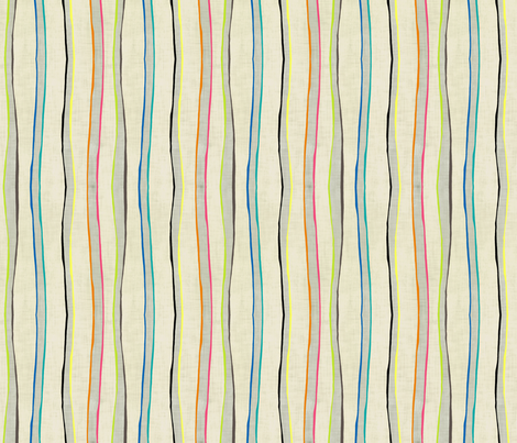 Loolu Stripe in Reverse fabric by lisabarbero on Spoonflower - custom fabric