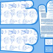 Aquabluetoileovenmittsfabricpatternfatquarterwithpaperpattern_shop_thumb