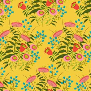 jolies fleurs no. 2 ~ bouton d'or