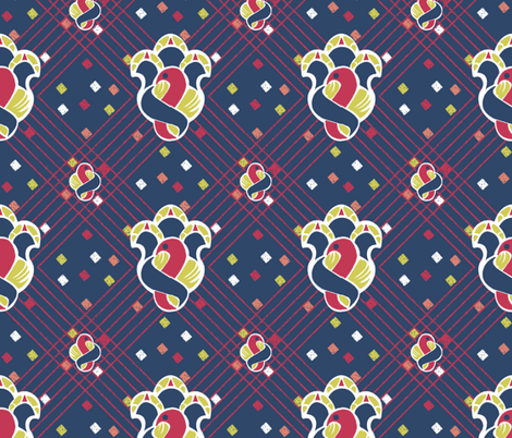 after_Matisse2 fabric by glimmericks on Spoonflower - custom fabric