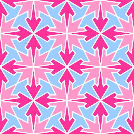 arrows 4m 3 X fabric by sef on Spoonflower - custom fabric