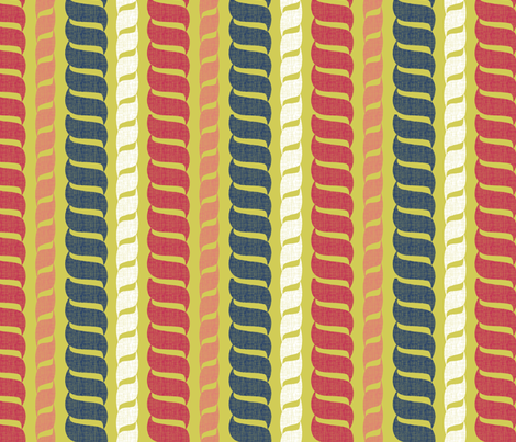 matisse_rope5 fabric by glimmericks on Spoonflower - custom fabric