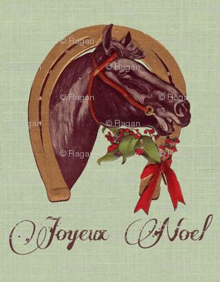 Christmas Horseshoe