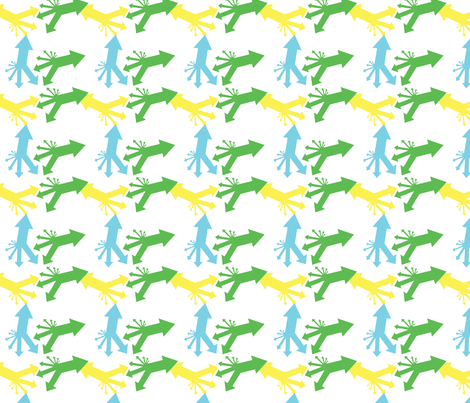 Arrows fabric by life_of_insanity on Spoonflower - custom fabric