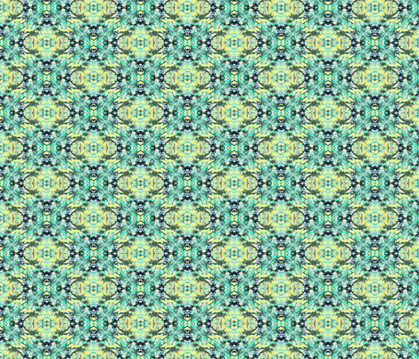 Loose yourself in Green & Yellow  fabric by farrellart on Spoonflower - custom fabric