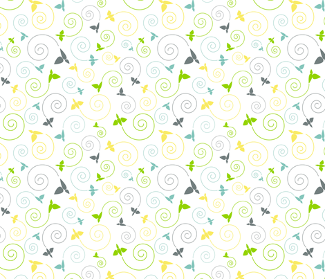 envol fabric by vlike on Spoonflower - custom fabric