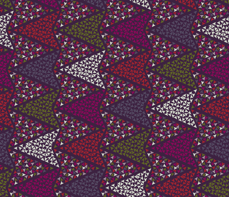 COLOURFUL_ARROWS fabric by leitmotifs on Spoonflower - custom fabric