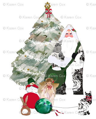 Father_Christmas_fabric_two