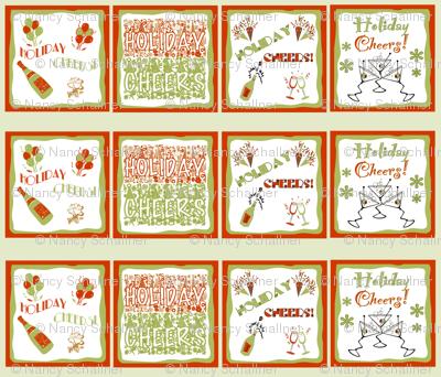 HOLIDAY CHEERS! Napkin Set