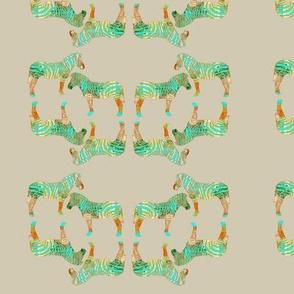 Geometric zebra