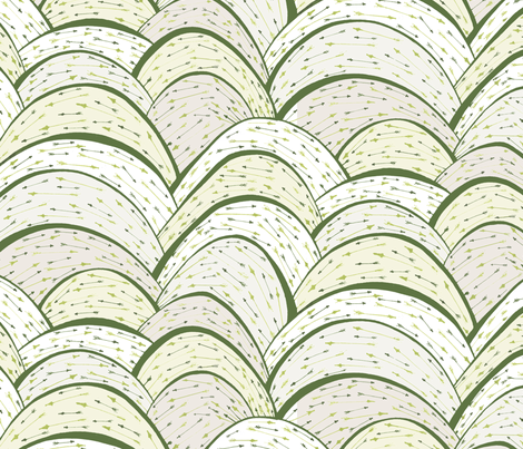 Elf Shot ( green) fabric by ceanirminger on Spoonflower - custom fabric