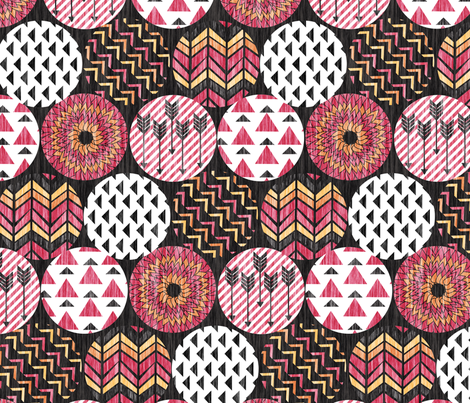 Aztec Arrows fabric by demigoutte on Spoonflower - custom fabric