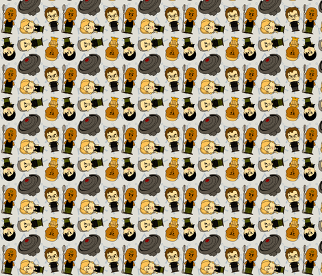 Through the Wormhole fabric by saraholledesign on Spoonflower - custom fabric