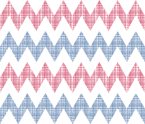 Chevron Arrows fabric by madex on Spoonflower - custom fabric