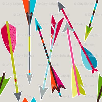 Head over heels for arrows