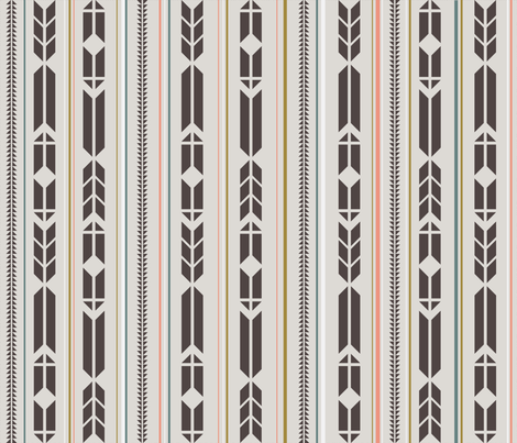 arrowspattern fabric by sarahstearns on Spoonflower - custom fabric