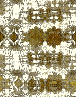Antiqued lace future