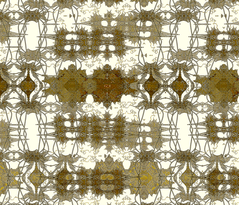 Antiqued lace future fabric by wren_leyland on Spoonflower - custom fabric