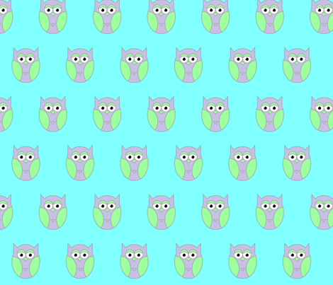 owl1 fabric by katrinaj on Spoonflower - custom fabric