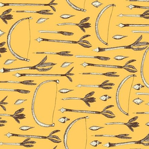 A Boy's Own Arrow Collection - Vintage Yellow Background (2)