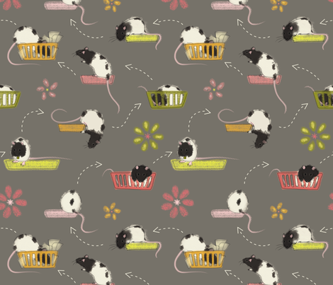 15 Minutes of Moxie fabric by meduzy on Spoonflower - custom fabric