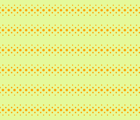citrus dot ribbon