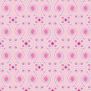 Curls in Pink