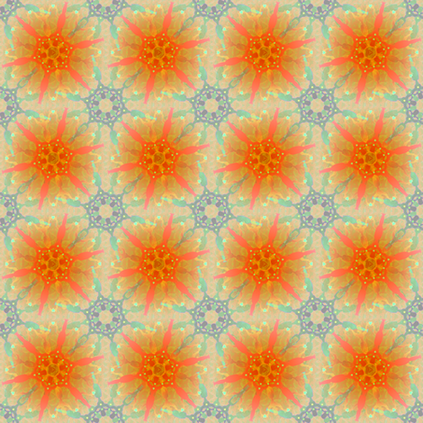 woman_on_fire21 fabric by glimmericks on Spoonflower - custom fabric