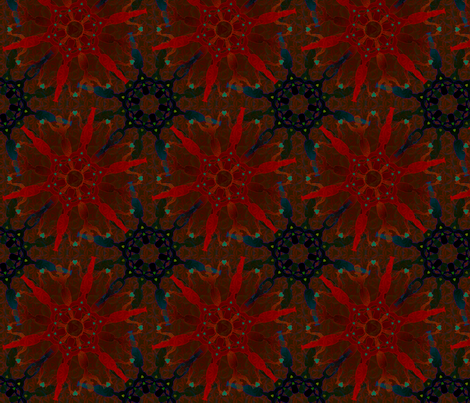 woman_on_fire20 fabric by glimmericks on Spoonflower - custom fabric