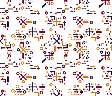 ARROWS2013 fabric by nikky on Spoonflower - custom fabric