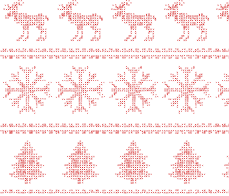 Christmas Print fabric by european-skies on Spoonflower - custom fabric