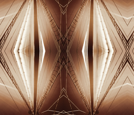 MASTer sepia fabric by dibbdibb on Spoonflower - custom fabric