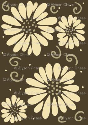 daisyfabricbrowns
