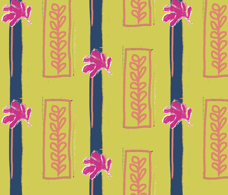 Matisse Regency fabric by wiccked on Spoonflower - custom fabric