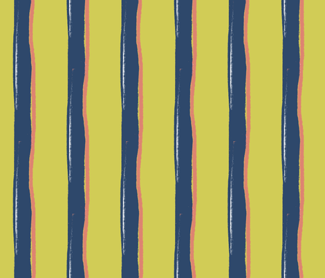 Matisse Striped fabric by wiccked on Spoonflower - custom fabric