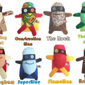 Mooglee Superheros Classic