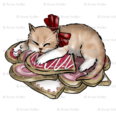 Kitten Tea Party, Sugar Cookie Bed