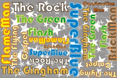 Mooglee Superheros Names