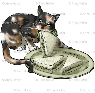 Kitten Tea Party, Sandwich Stealer