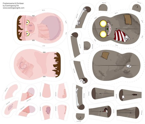 Rrspoonflower_fat_quarter_zombear_frankenswine-01_shop_preview